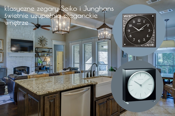 Zegary Seiko i Junghans