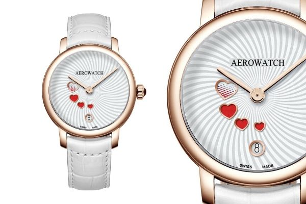 Aerowatch Renaissance Swirling Love 44938-RO21