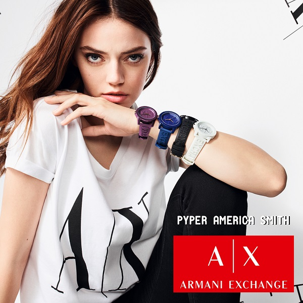Armani Exchange baner dziewczyna