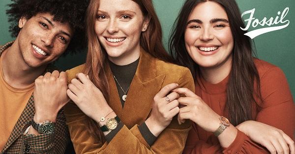 zegarki fossil lifestyle modelki
