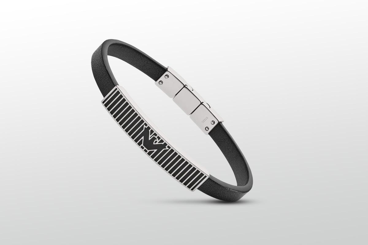 bransoleta męska Emporio Armani Essential