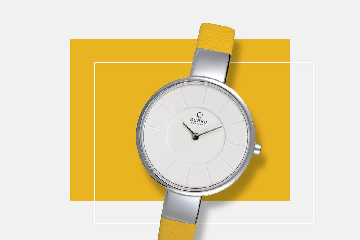 Pantone kolor roku zegarek Obaku