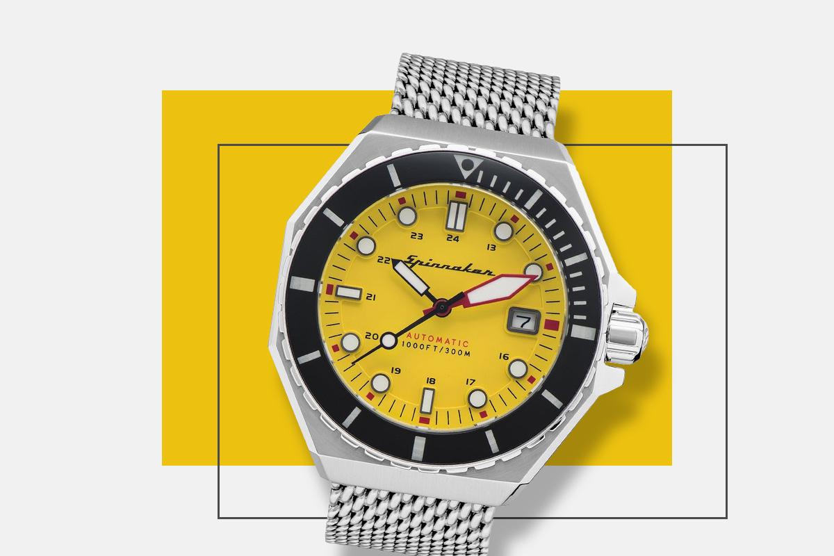 Pantone kolor roku zegarek Spinnaker