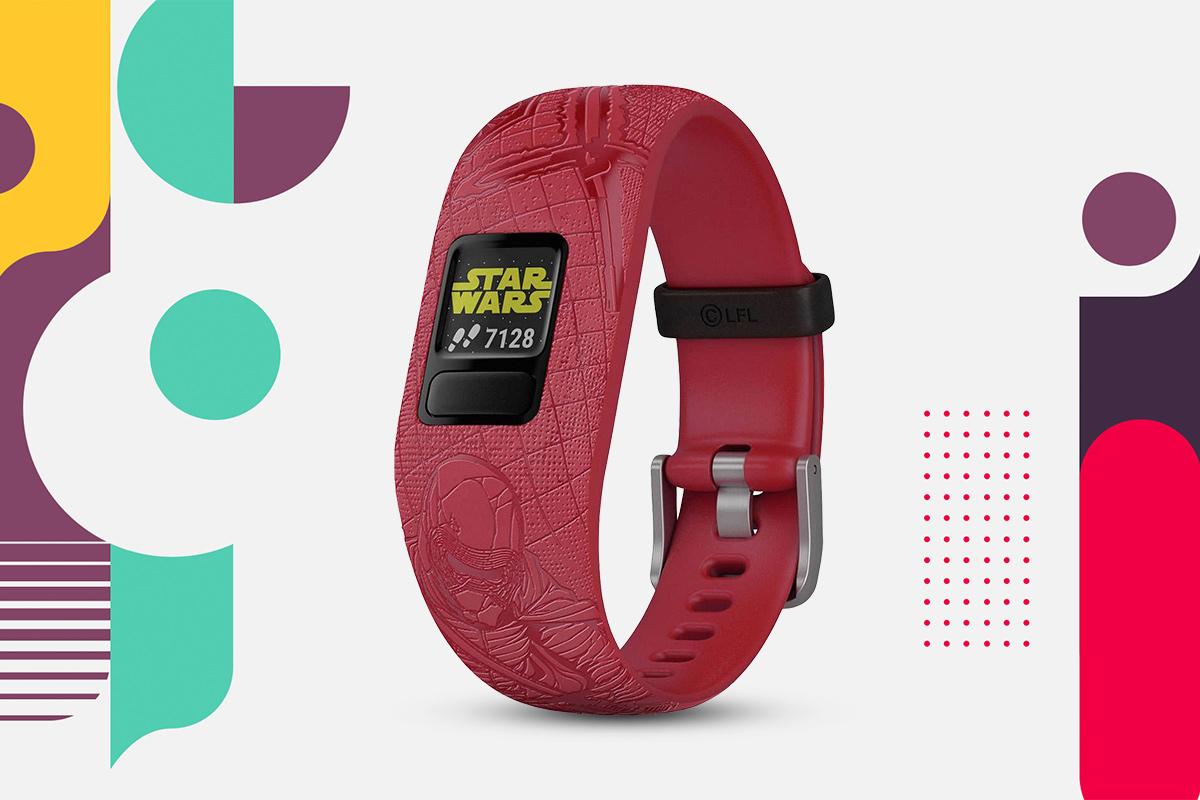 Smartwatch dla dzieci Garmin Vívofit® jr. 2 Gwiezdne Wojny Ciemna Strona