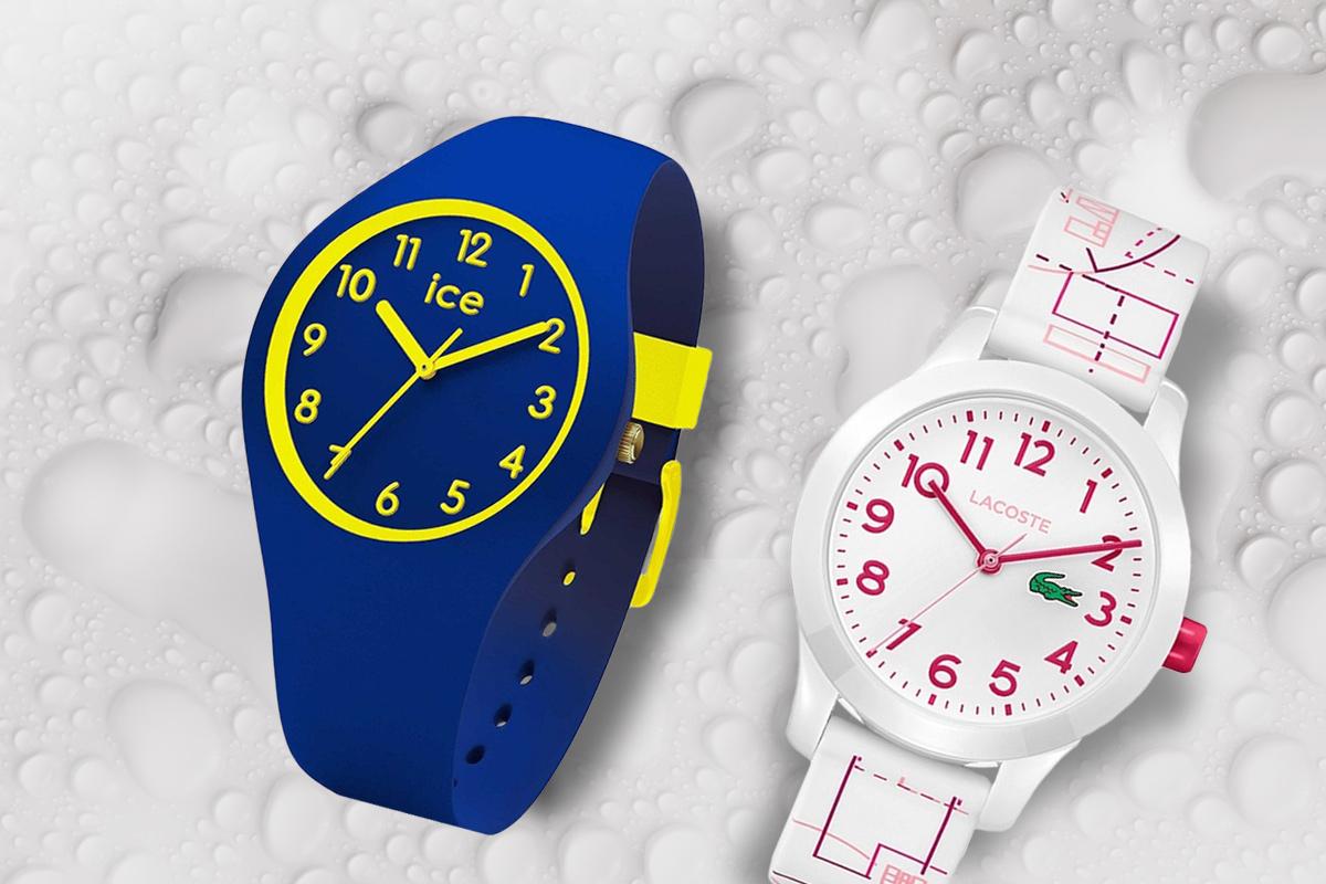 Wodoszczelne zegarki dziecięce