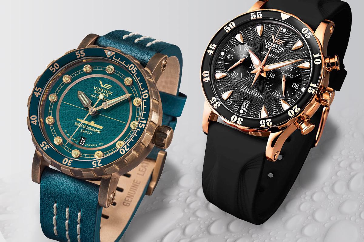 Zegarki Vostok Europe dla niej i dla niego